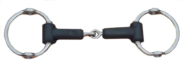 Rubber Jointed Gag Bit