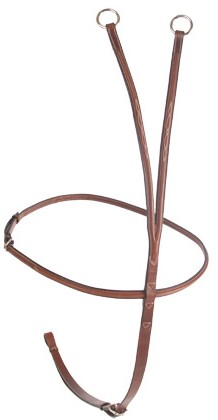 CWD Raised Fancy Stitch Running Martingale