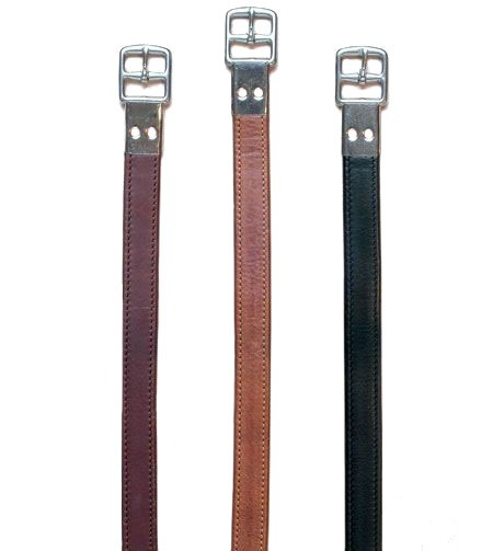 Flat Buckle Leathers