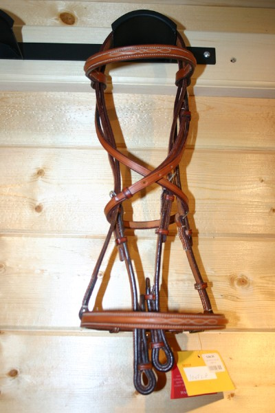Edgewood Raised Fancy Stitch Bridle
