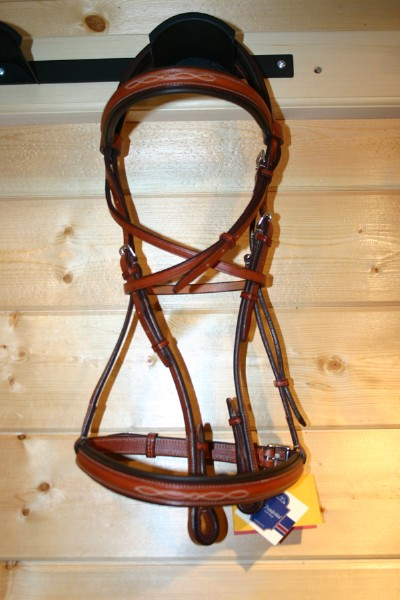 Edwood Raised & Padded Fancy Stitch Bridle